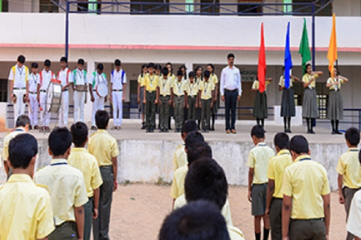 Balaji High School-Invvestiture Ceremony