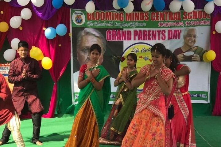 Blooming Minds Central School-Grand Parents Day
