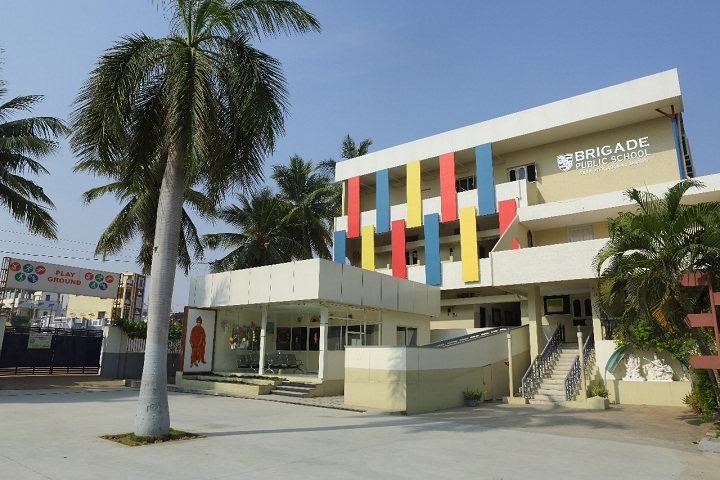 Brigade Public School-Campus View