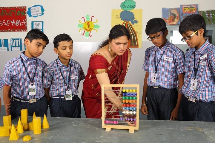 Brigade Public School-Maths Lab