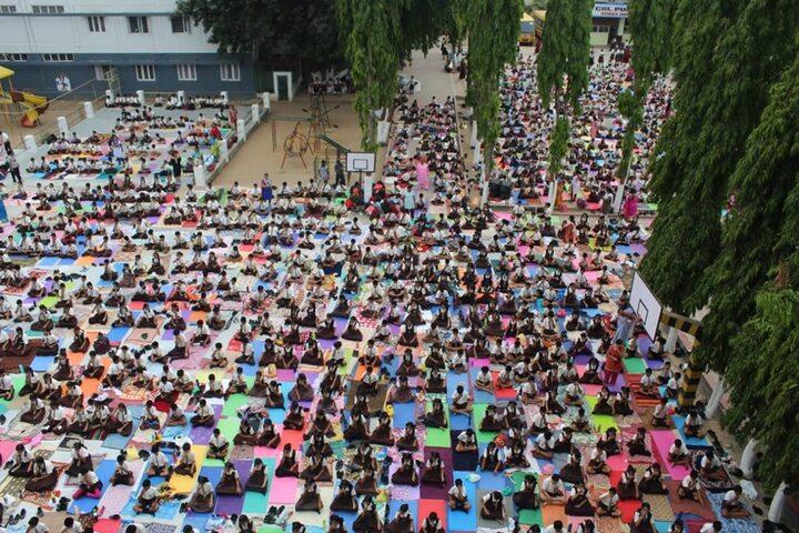 CAL Public School-Yoga Day
