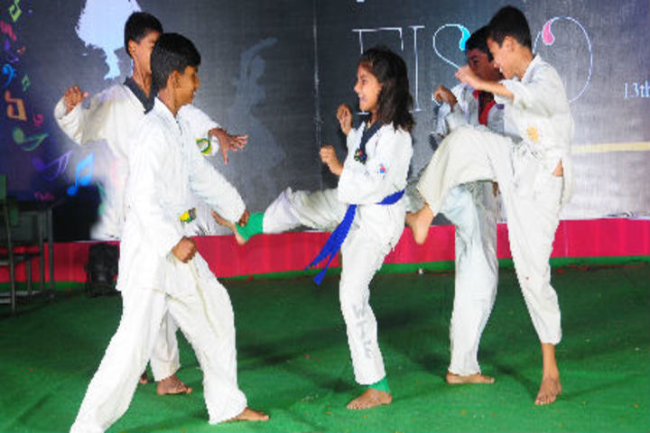 Candor Shrine I Senior Secondary School-Karate Activity