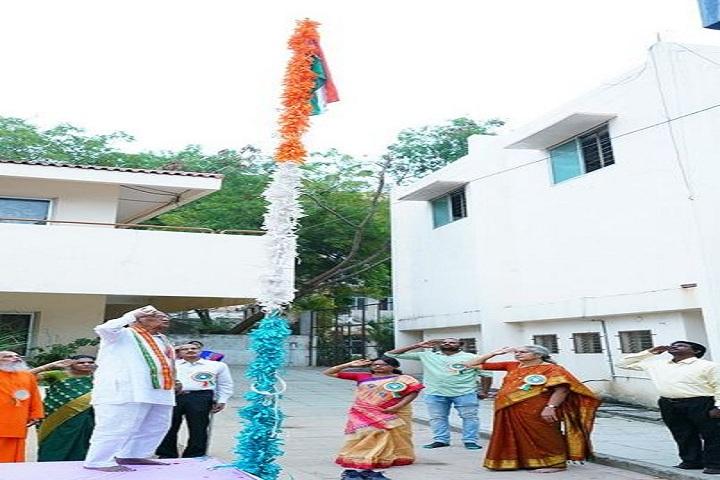 Chinmaya Vidyalaya-Flag Hosting
