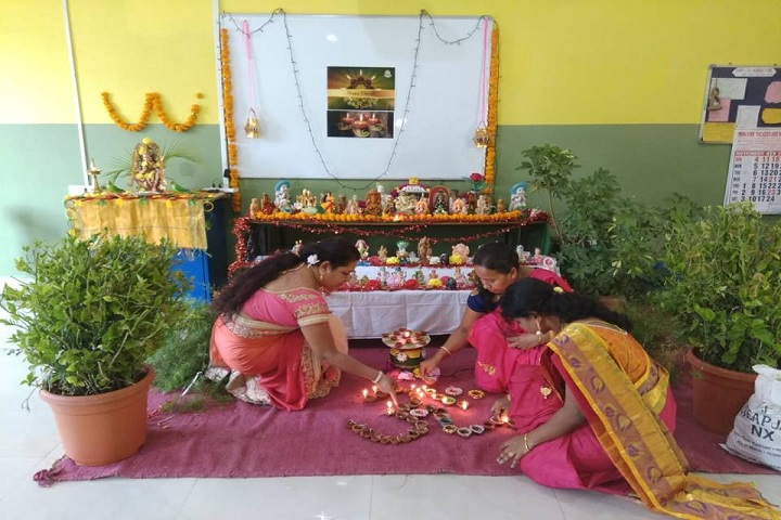 Cmr International School-Diwali Celebrations