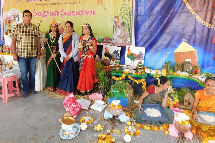 Cmr International School-Pongal Celebrations