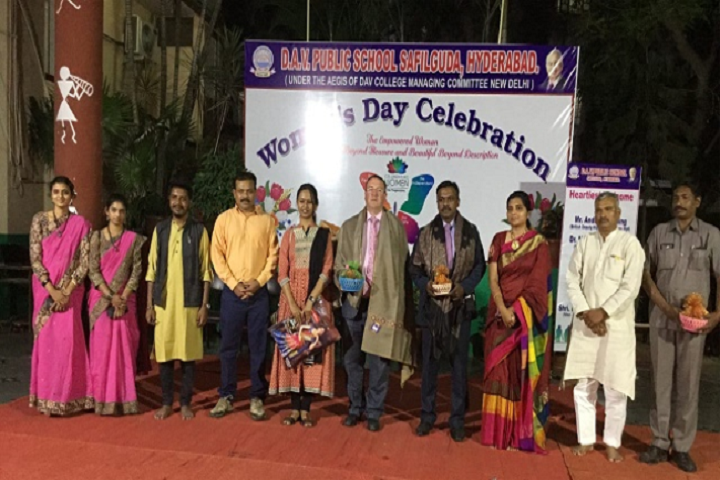 D A V Public School-Womens Day Celebrations