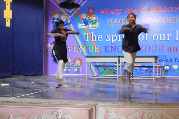 Don Bosco School-Dancing Activity