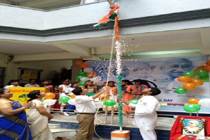 English Union School-Republic Day