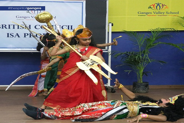 Ganges Valley School-Dussehra Celebrations
