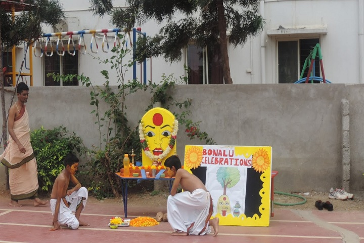 Geetanjali High School-Bonalu Celebrations