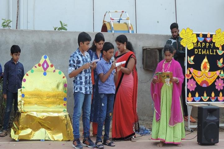 Geetanjali High School-Diwali Celebrations