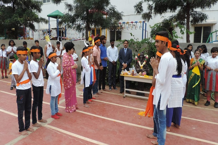 Geetanjali High School-Ganesh Chathurthi Celebrations