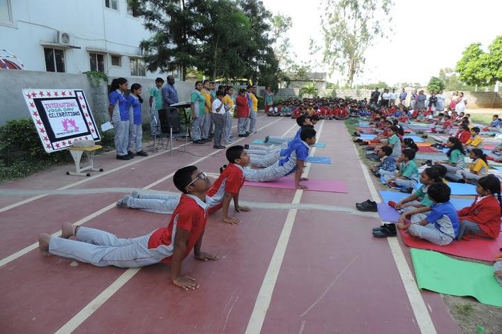 Geetanjali High School-Yoga Day