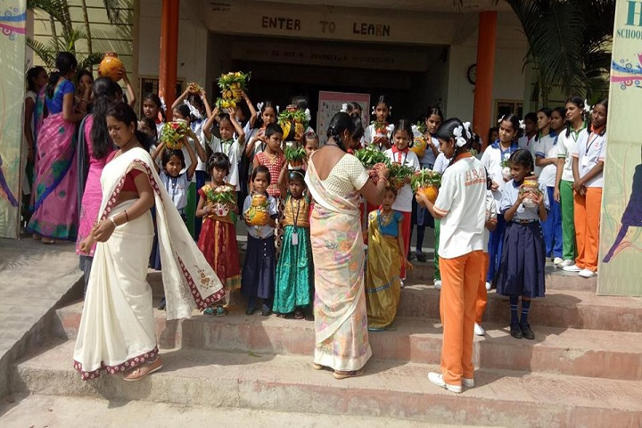 HRD School Of Excellence-Bonalu Celebrations