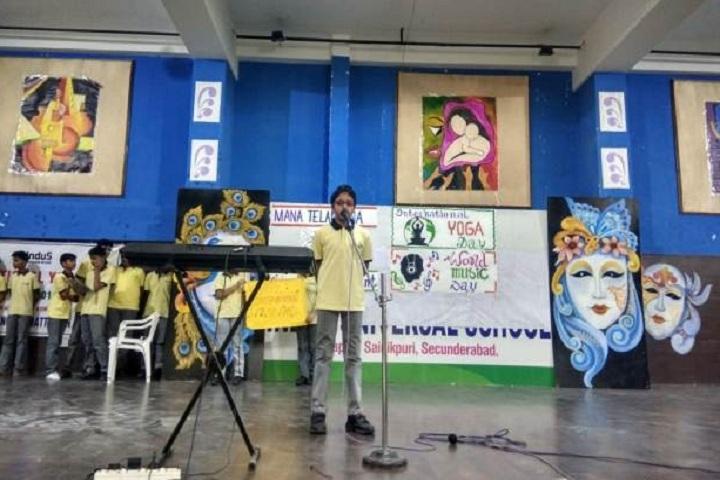 Indus Universal School-Music Day