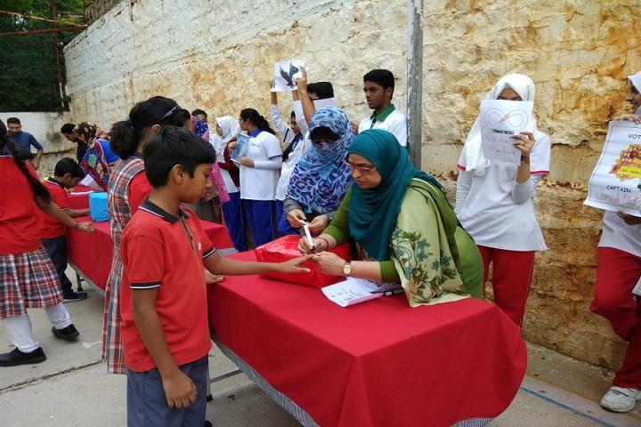 Iqbalia School-School Election