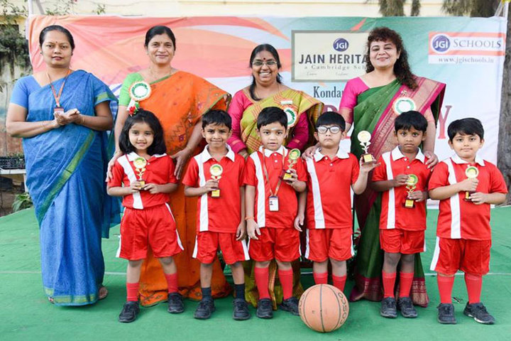 Jain Heritage-A Cambridge School-Achievement