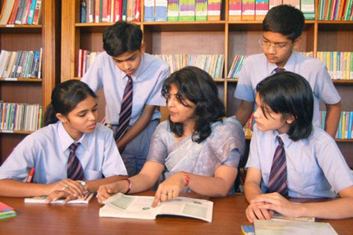 Jain Heritage-A Cambridge School-Library