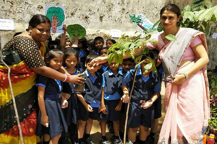 Jain Heritage-A Cambridge School-Tree-Plantation