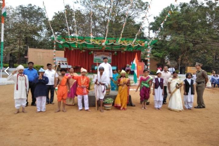 Jawahar Navodaya Vidyalaya-Republic Day Celebration