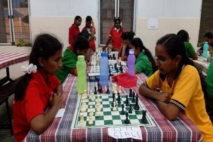 Jawahar Navodaya Vidyalaya-Chess Competetion