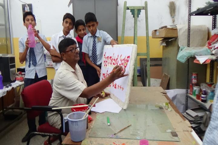 Jawahar Navodaya Vidyalaya-Art Class