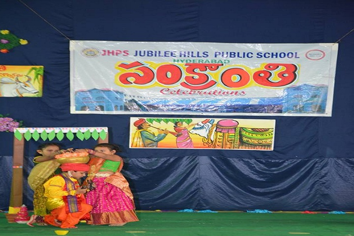Jubliee Hills Public School-Sankranthi Celebrations
