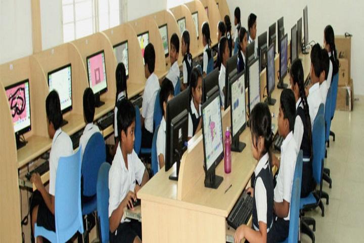 Jubilee Hills Public School-Computer Lab