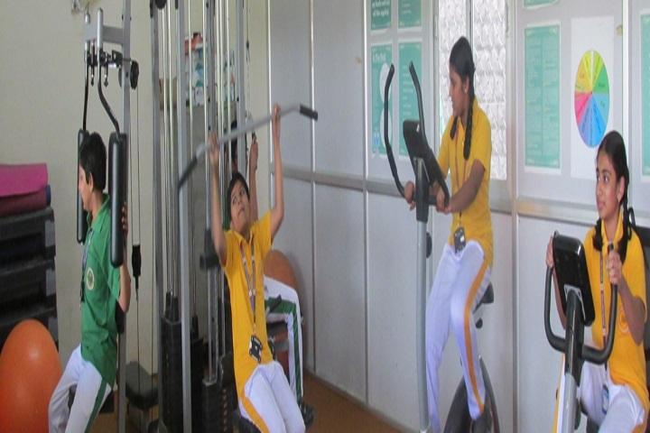 Jubilee Hills Public School-Gym