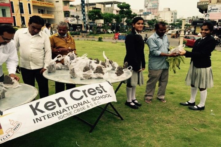 Kencrest International School-Ganesh Chatruthi Celebrations