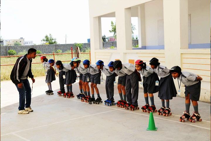 Kiran International School-Skating