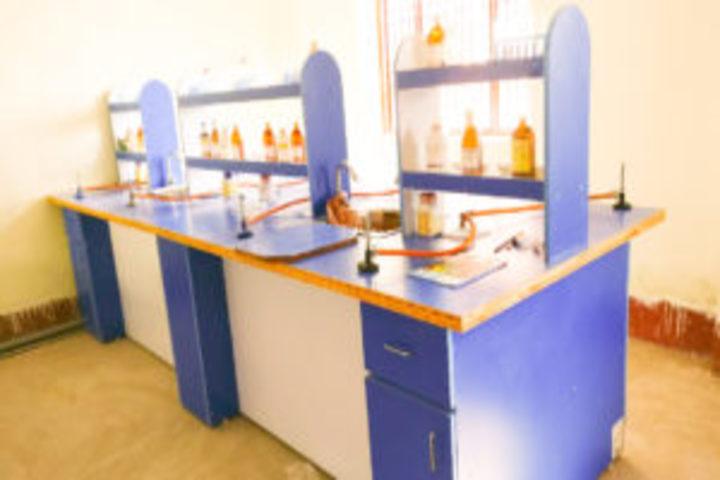 Ramkrishna Paramhans Vidyalaya-Chemistry Lab