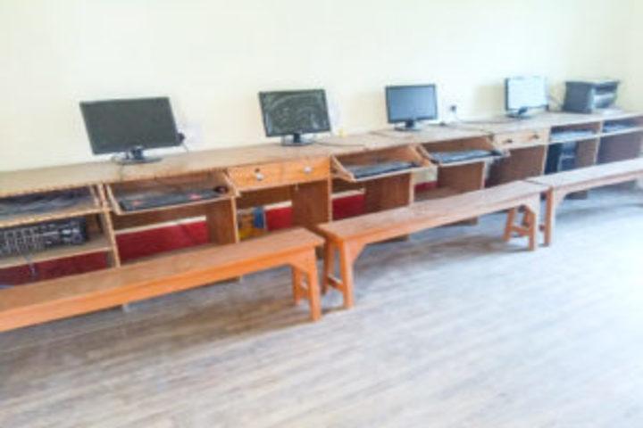 Ramkrishna Paramhans Vidyalaya-Computer lab