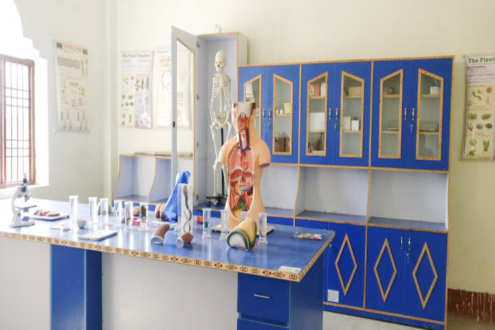 Ramkrishna Paramhans Vidyalaya-Science Lab