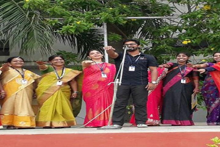 Lotus National School-Teachersday