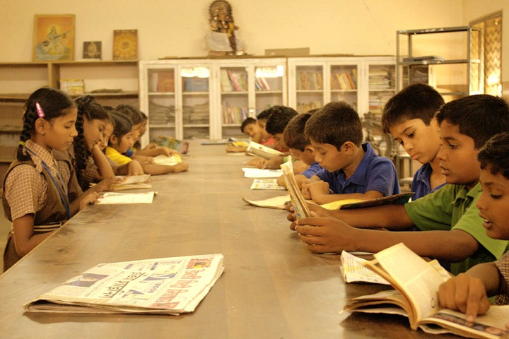 Mahesh Vidya Bhavan High School-Library
