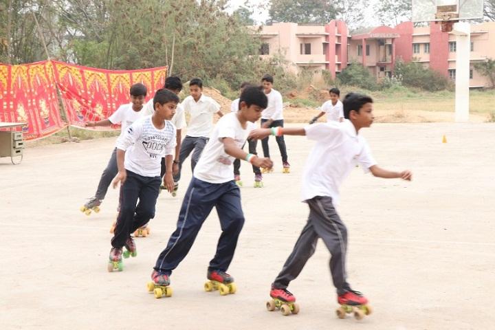 Mahesh Vidya Bhavan High School-Skating