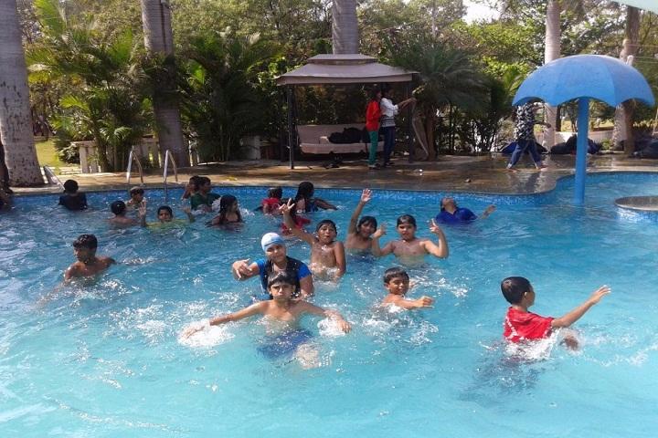 Mahesh Vidya Bhavan High School-Swimming