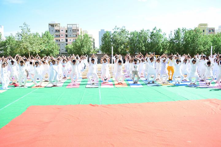 Matrusri Dav Public School-Yoga
