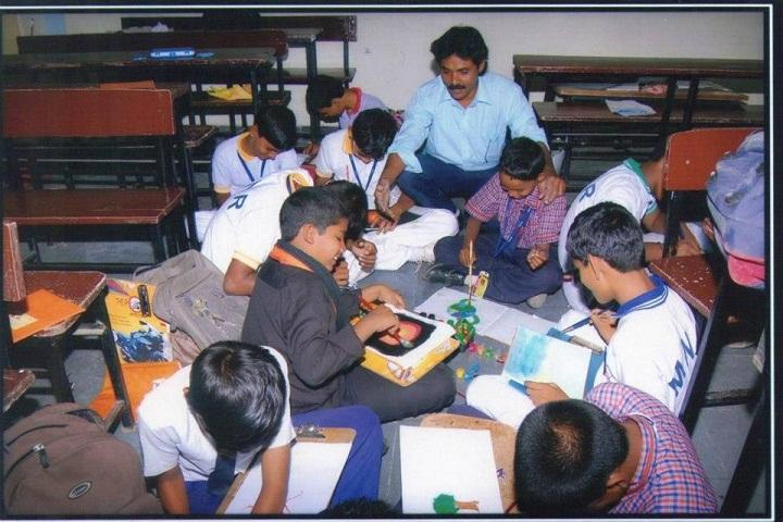 MNR School Of Excellence-Art Room