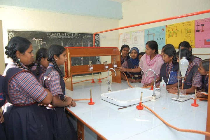 MNR School Of Excellence-Chemistry Lab