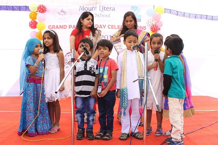 Mount Litera Zee School-Singing