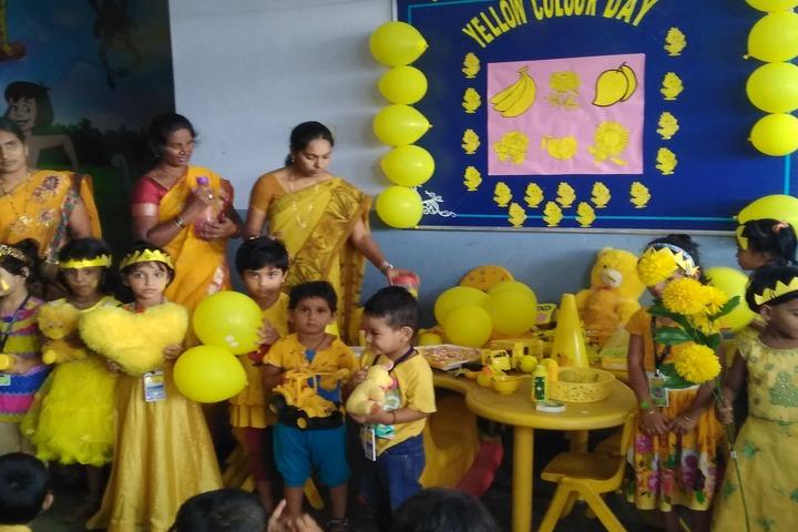 New Little Flower School-Yellow Day
