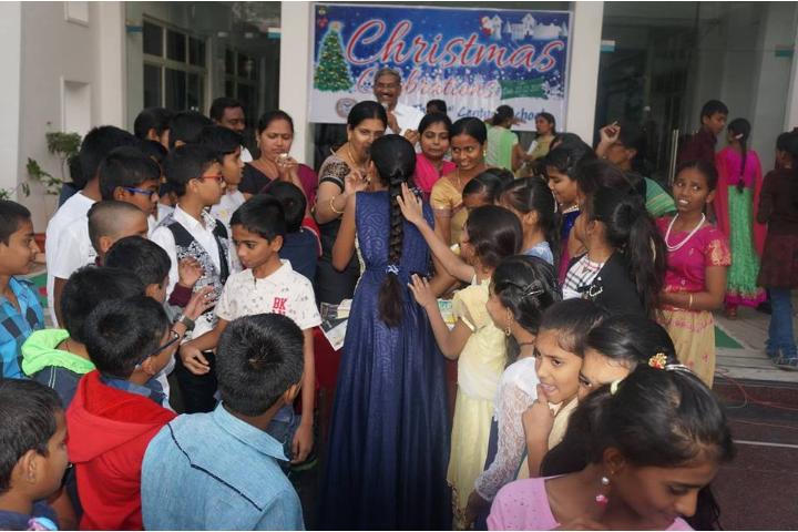 Oasis Public School-Christmas Celebration Activity