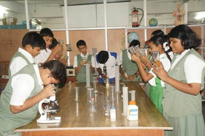 Oasis Public School-Science Lab