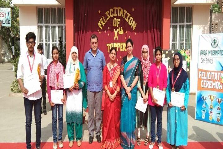 Raza International Girls School-Achievements