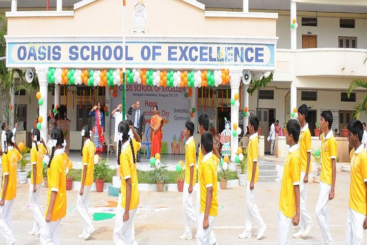 Oasis School Of Excellence-Republicday