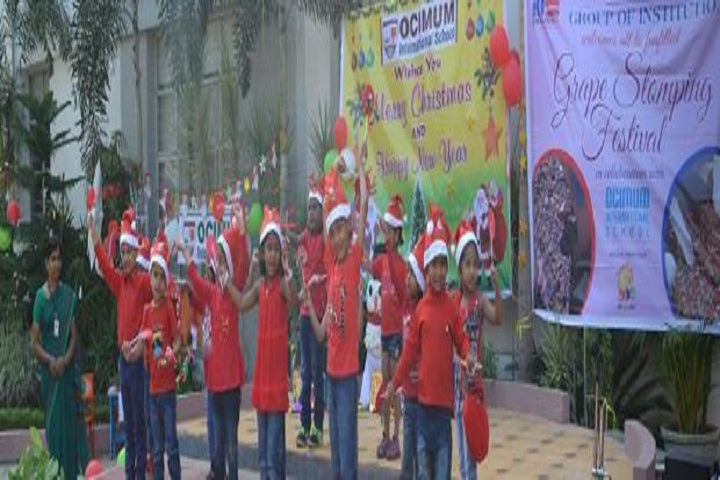 Ocimum International School-Christmas-Celebrations