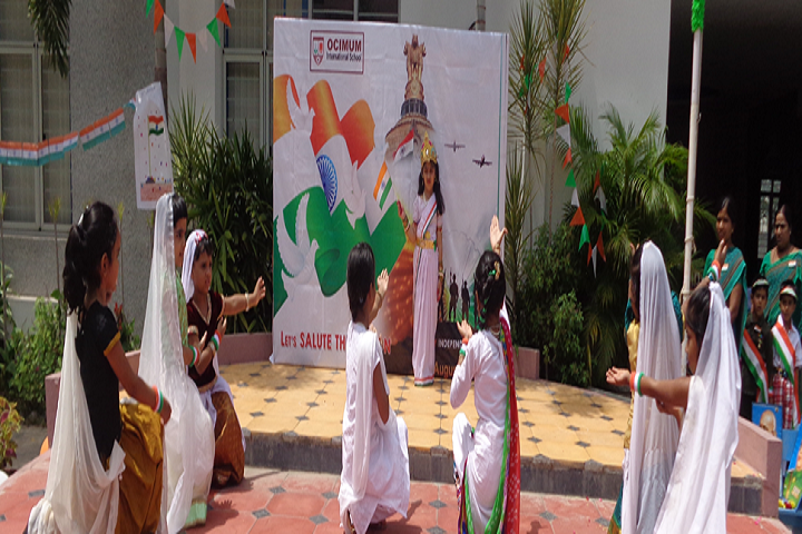 Ocimum International School-Republic Day