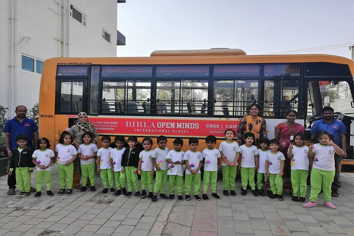 Open Minds A Birla School-Transport